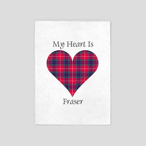 Heart - Fraser 5'x7'Area Rug