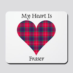Heart - Fraser Mousepad