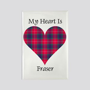 Heart - Fraser Rectangle Magnet