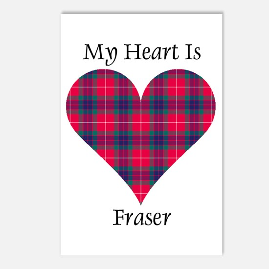 Heart - Fraser Postcards (Package of 8)
