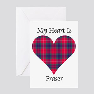 Heart - Fraser Greeting Card