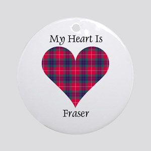 Heart - Fraser Ornament (Round)