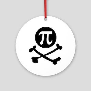 Pi-rate Ornament (Round)