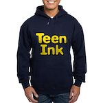 Square Logo Teen Ink Hoodie (dark)