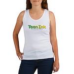 Green-Yellow Teen Ink Women's Tank Top