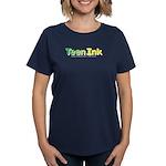 Green-Yellow Teen Ink Women's Dark T-Shirt