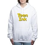 Square Logo Teen Ink Women's Hooded Sweatshirt