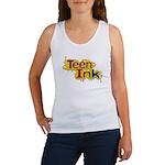 Retro Splash Logo Teen Ink Tank Top