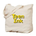 Square Teen Ink Logo Tote Bag