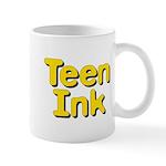 Square Teen Ink Logo Mugs