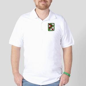 Christmas Quilt Golf Shirt