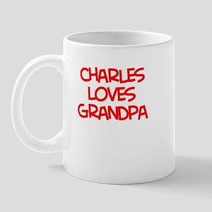 Charles Loves Grandpa Mug