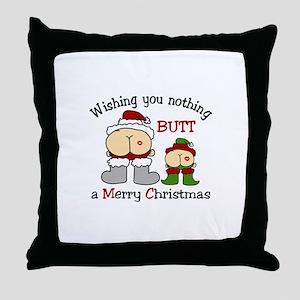 Wishing You Throw Pillow
