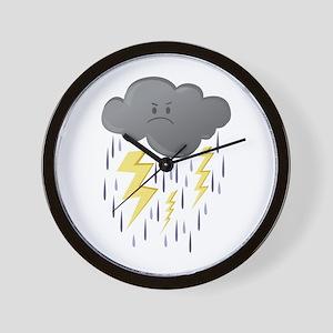 Thunder Storm Wall Clock