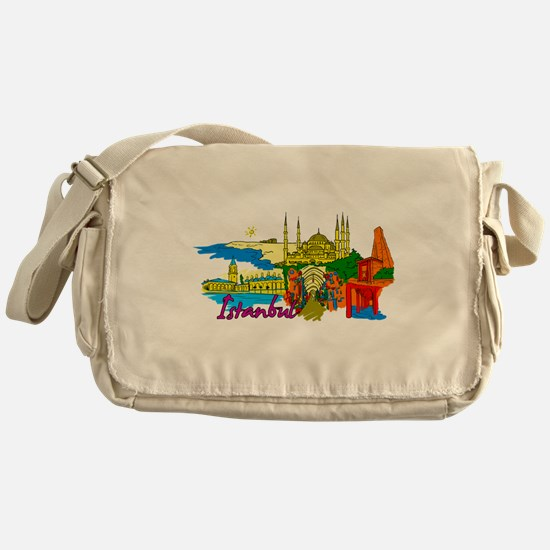 Istanbul - Turkey Messenger Bag