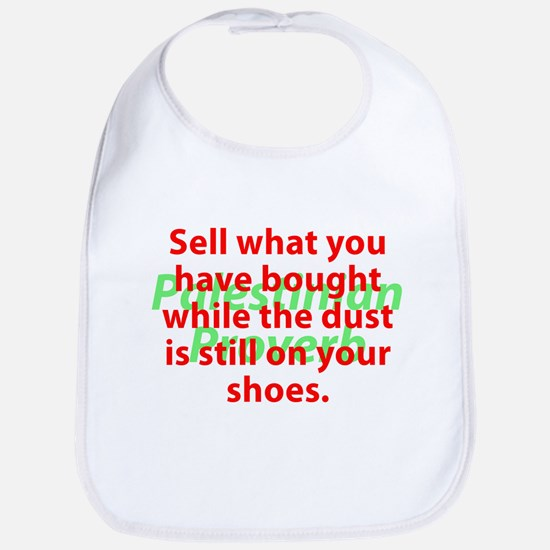 Sell What You Have Bought Baby Bib