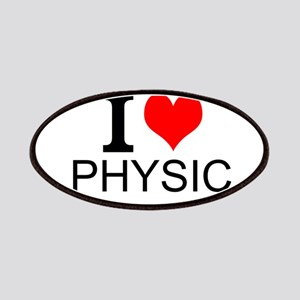 I Love Physics Patches