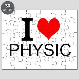 I Love Physics Puzzle