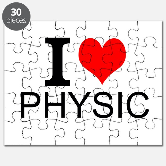 I Love Physics Puzzle
