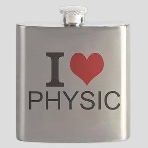 I Love Physics Flask