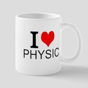 I Love Physics Mugs
