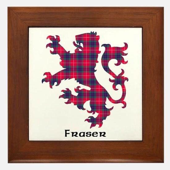 Lion - Fraser Framed Tile