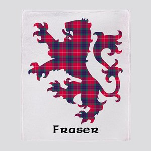 Lion - Fraser Throw Blanket