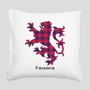 Lion - Fraser Square Canvas Pillow