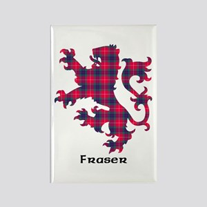 Lion - Fraser Rectangle Magnet