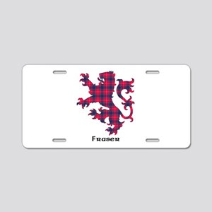 Lion - Fraser Aluminum License Plate