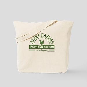 Aliki Farms. Portland Oregon Tote Bag