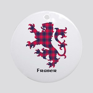 Lion - Fraser Ornament (Round)