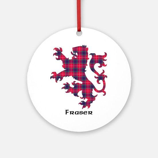 Lion - Fraser Ornament (Round)