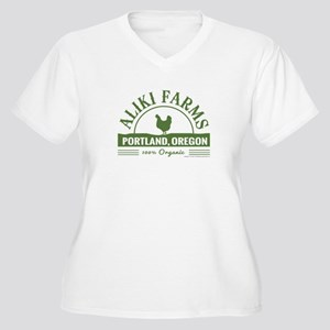 Aliki Farms. Portland Oregon Plus Size T-Shirt