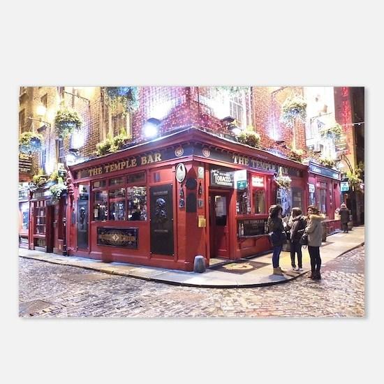 Temple Bar Dublin, Irelan Postcards (Package of 8)