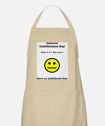Indifference Day (Y) BBQ Apron