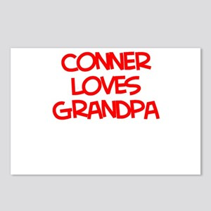 Conner Loves Grandpa Postcards (Package of 8)