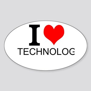 I Love Technology Sticker