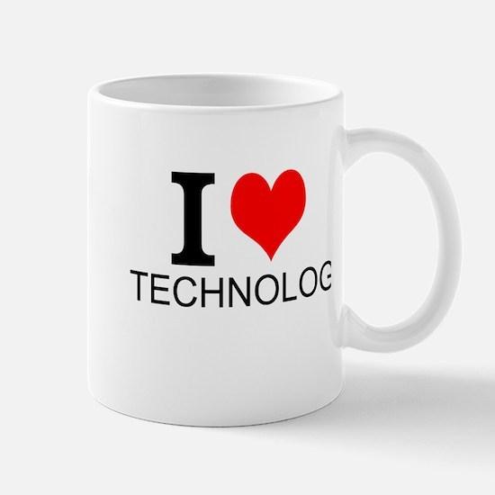 I Love Technology Mugs