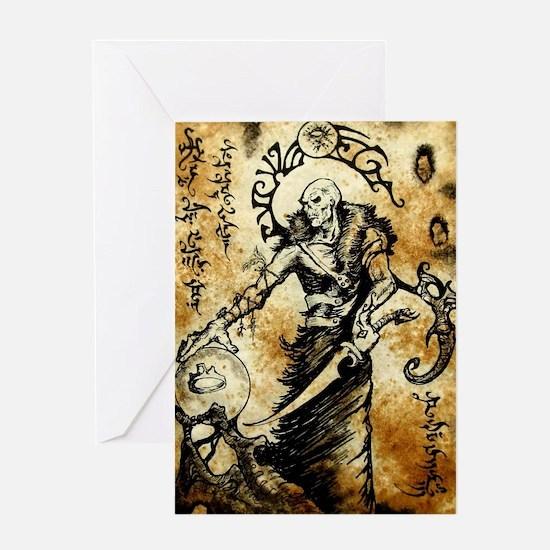 Thulsa Doom Greeting Card