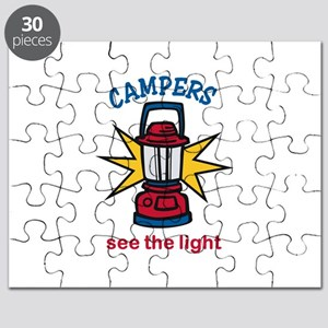 Campers See the Light Puzzle