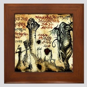 Cthulhu Rituals Framed Tile