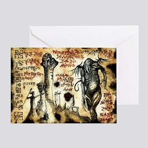Cthulhu Rituals Greeting Card