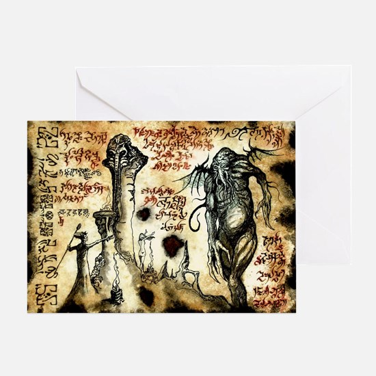 Cthulhu Rituals Greeting Card