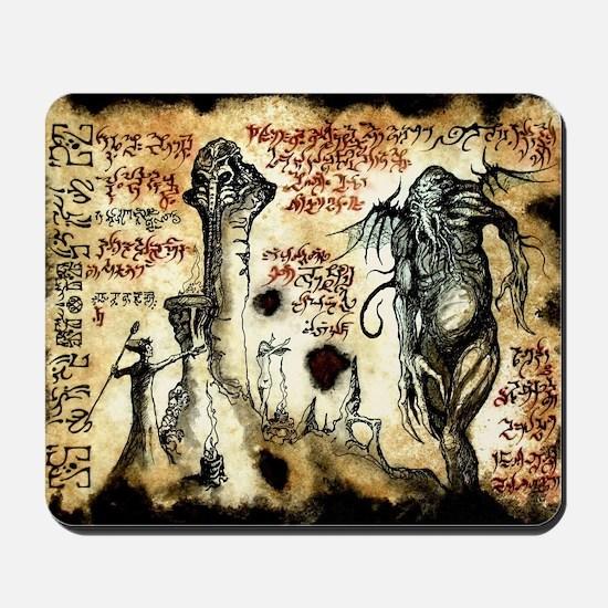 Cthulhu Rituals Mousepad