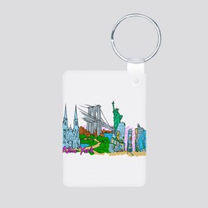 New York City - United States of America Keychains