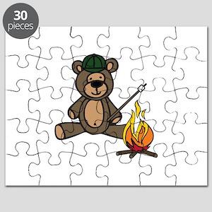 Campfire Teddy Bear Puzzle