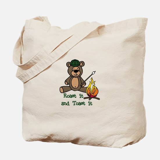 Roast It Toast It Tote Bag