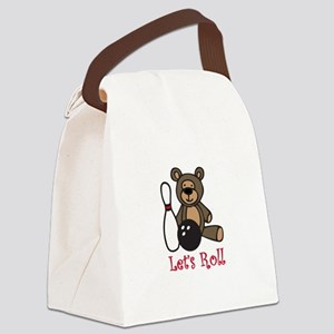 Lets Roll Canvas Lunch Bag