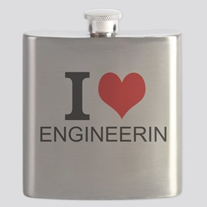 I Love Engineering Flask